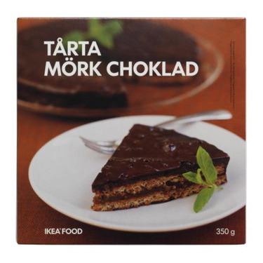 Ikea TÅRTA MÖRK CHOKLAD Almond Cake with Dark Chocolate