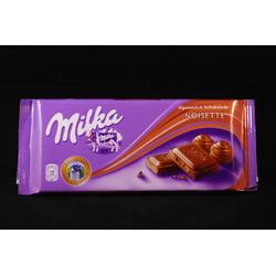 Milka Hazelnut Milk Chocolate Bar