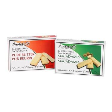 Lander's Australia Gluten Free Macadamia Shortbread