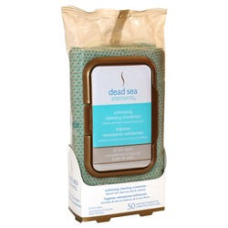 Dead Sea Elements Exfoliating Cleansing Towelettes
