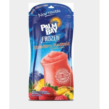 Palm Bay frozen strawberry pineapple