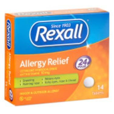 Rexall Non Drowsy Allergy Relief Loratadine Tablets