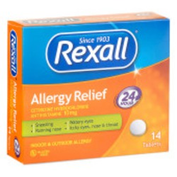Rexall Non Drowsy Allergy Relief Loratadine Tablets