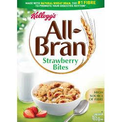 Kelloggs All Bran Strawberry Bites