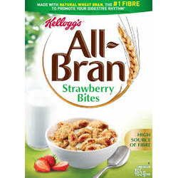 Kelloggs All Bran Strawberry Bites