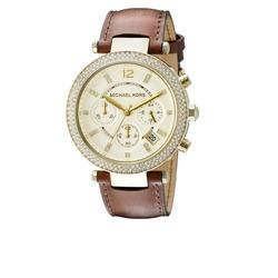 Michael kors Parker brown watch