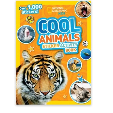 National geographic kids cool animal sticker activity book