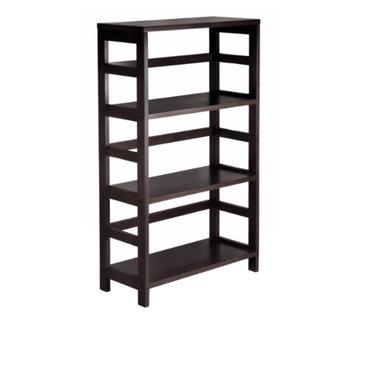 Winsome wood 3 shelf wide shelving unit