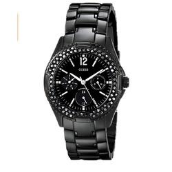 Guess women's black watch