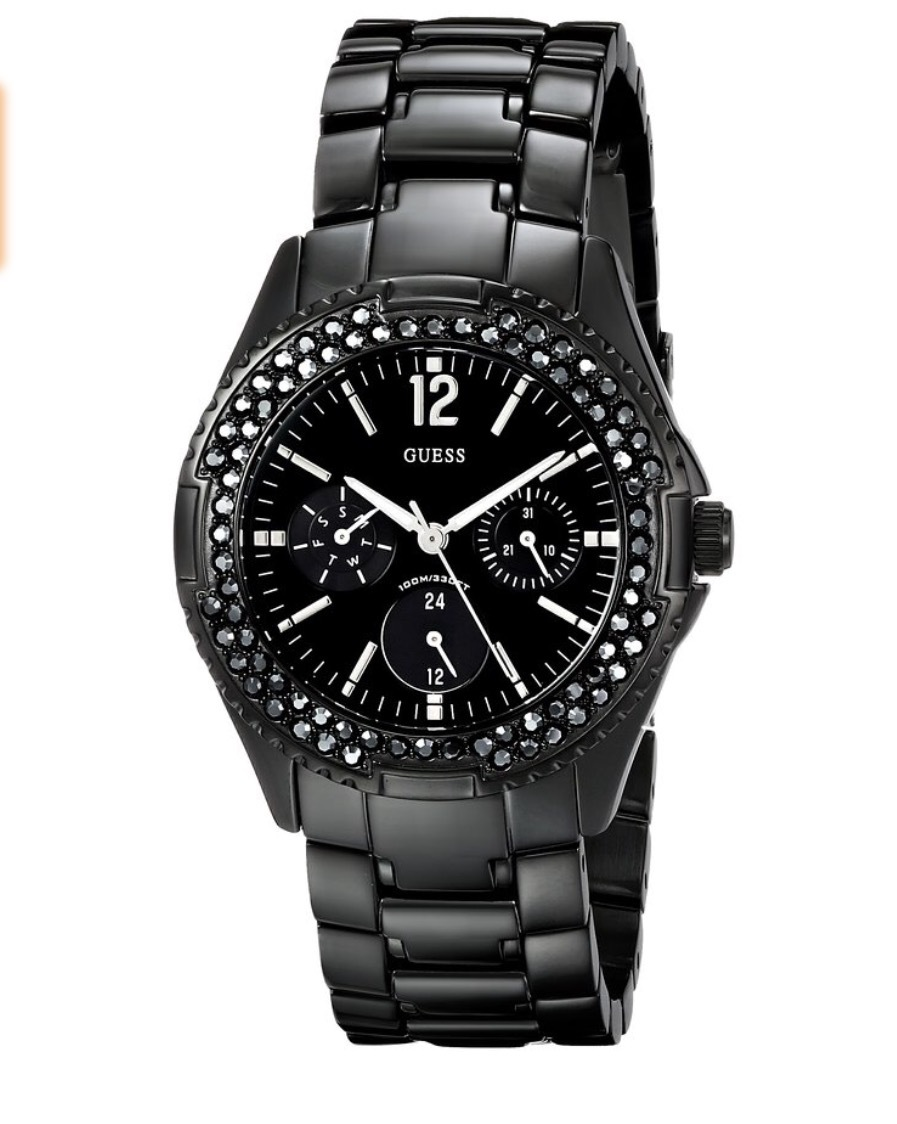 Guess women's black watch reviews in Watches - ChickAdvisor