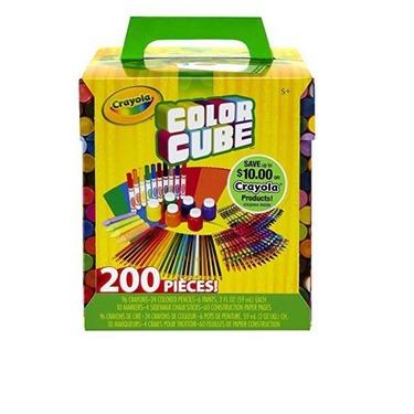 Crayola color cube