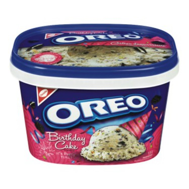 Nestle Birthday Cake Oreo Ice Cream