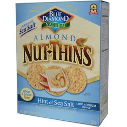 Black Diamond Natural Almond Nut Thins
