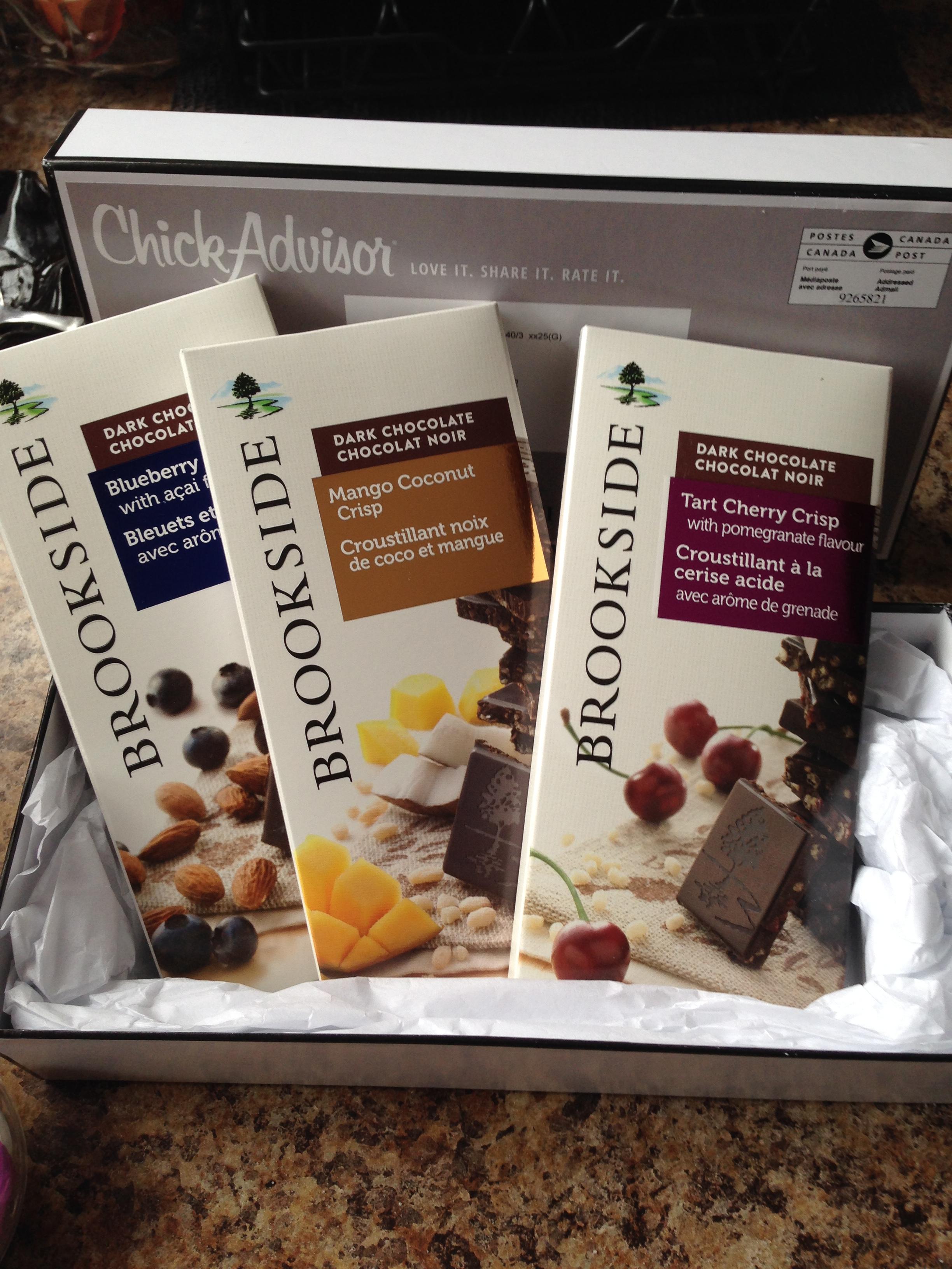 Brookside Dark Chocolate Tablet Bars reviews in Chocolate ...