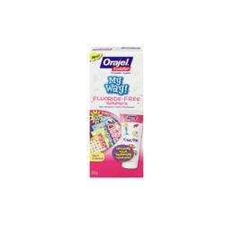 Orajel toddler my way toothpaste
