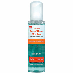 Neutrogena Acne Stress Control Power-Foam Wash