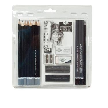 Royal brush and langnickel essentials sketching pencils