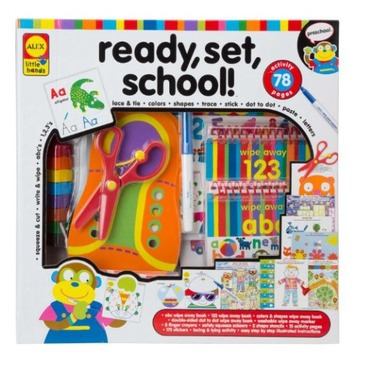 Alex toys early learning ready set school