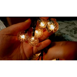 Eshing Outdoor Solar Powered Globe Fairy Lights