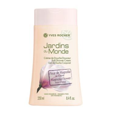 Yves Rocher Jardins du Monde Magnolia Flower Soft Shower Cream