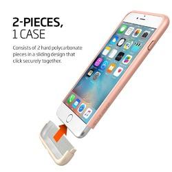 Spigen iPhone 6 Style Armor Safe Slide Case (Rose Gold)