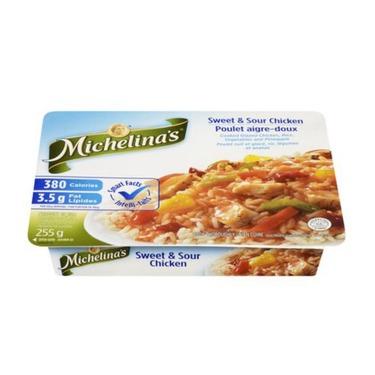 Michelinas light sweet & sour chicken