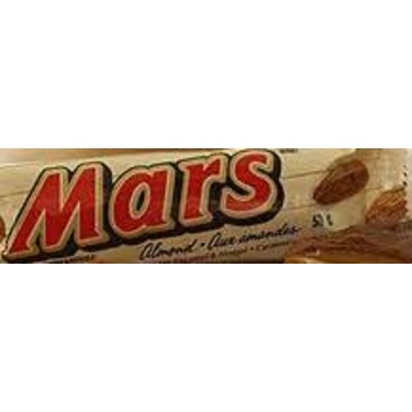 Mars Bar With Almonds