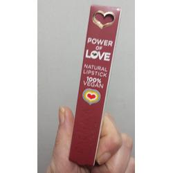 Power of love vegan lipsticks