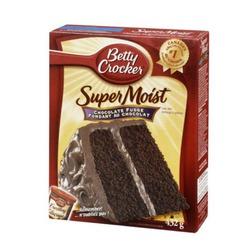 Betty Crocker super moist chocolate fudge