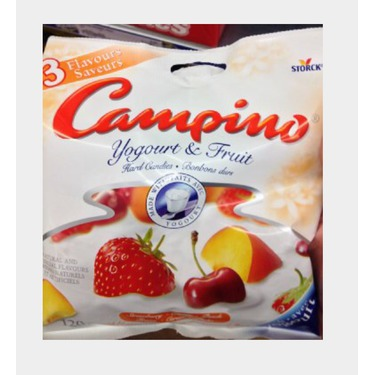 Campino yogurt & fruit 3 variety bag