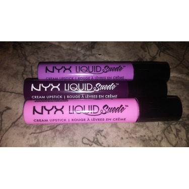 NYX Cosmetics Liquid Suede Cream Lipstick