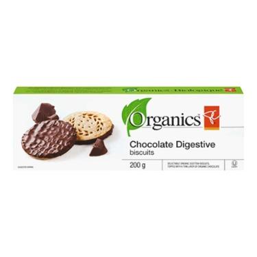 PC Organics Chocolate Digestive biscuits