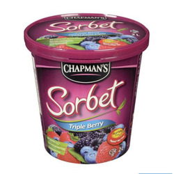 Chapmans sorbet triple berry