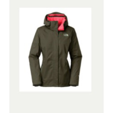 North face women's inlux insulated jacket
