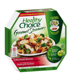 Healthy Choice Gourmet Steamers - Grilled Chicken Marinara