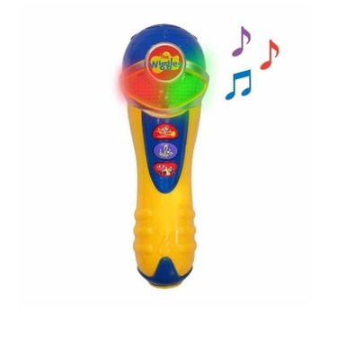 The wiggles wiggly musical light up microphone