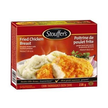 Stouffers fried chicken breast