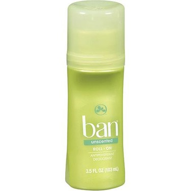 Ban unscented Roll On