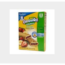 Gerber Graduates Strawberry Banana Cereal Bars