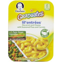 Nestlé Gerber Toddler Meals Lil' Entrées - Pasta Stars in Meat Sauce with Green Beans