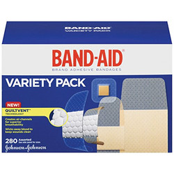 Band-Aid Brand Adhesive Bandages, Variety Pack