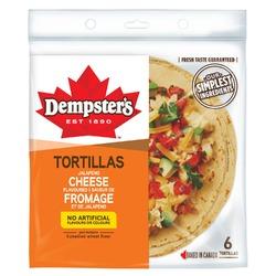 Dempster's cheese tortillas