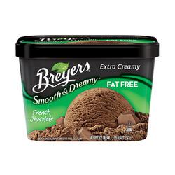 Breyer's Smooth & Dreamy Creamy Fat-Free Chocolate Ice Cream