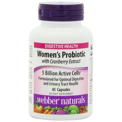 Webber Naturals Women's Probiotic Capsules