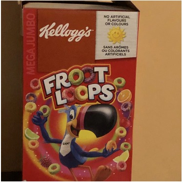 Kellogg's Froot Loops Cereal