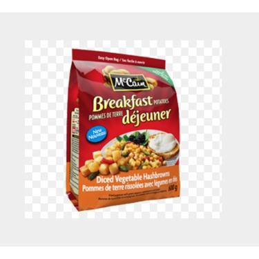 McCain Breakfast Diced Vegetable Hashbrowns
