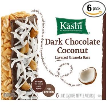 Kashi Dark Chocolate Coconut Layered Granola Bars