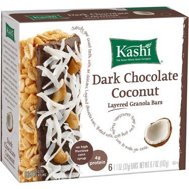 Kashi TLC Dark Chocolate Coconut Fruit & Grain Bars