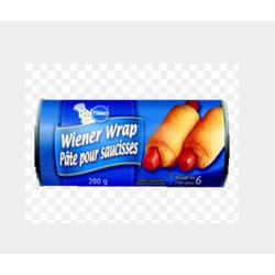 Pillsbury wiener wrap