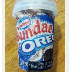 Nestle sundae oreo